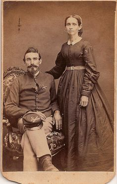 Artillery Private and Wife.