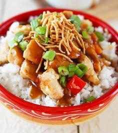 25-Minute Hawaiian Hula Chicken - Tender chicken in a sweet Hawaiian sauce ... YUM!