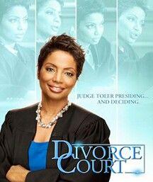 Judge Lynn Toler  http://www.judgelynn.com/divorce-court/