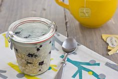 What I Ate This Week   Vanilla Blackberry Overnight Oatmeal Recipe