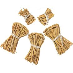 Raffia or hula skirt for straw in scarecrow costume