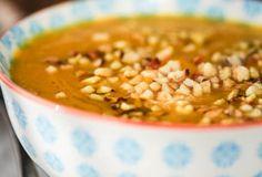 Butternut, Coconut and Hazelnut Soup