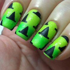 nail trends, nail designs, witch hat, nail arts, hat nail, nail ideas, halloween nail art, art nails, halloween nails