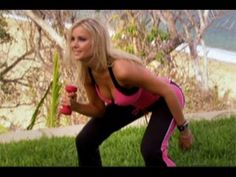 Sexy Legs 5 Minute Workout with 2006 Playboy Playmate Of The Year, Kara Monaco