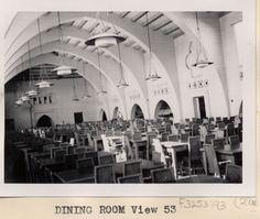 South Quad Dining Hall, circa 1936
