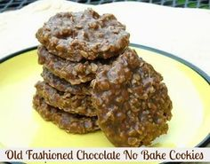 Mommy's Kitchen: Chocolate No Bake Cookies {Old Fashioned Favorite}