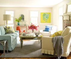 Get the Look: Farmhouse Living Room