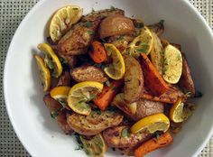 Roasted Root Vegetables And Meyer Lemons by Julie O'Hara, NPR #Root_Vegetables #Meyer_Lemons #NPR #Julie_OHara