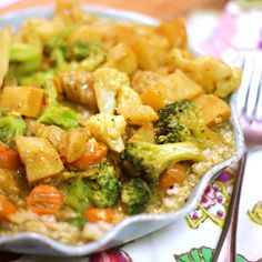 MUST try this! Easy Coconut Curry recipe. #healthy #thai #recipe #dinner #ideas