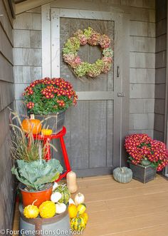 Fall decorating : Easy tips for your back or front door