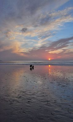 Beautiful Carmel, CA sunset.