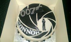James Bond themed birthday cake!