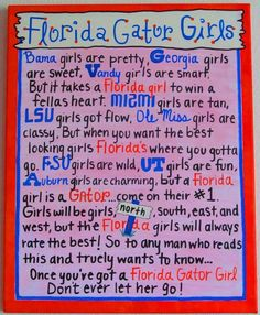 Florida Gator Girls