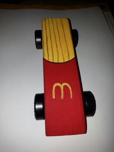 My Pinewood Derby Car