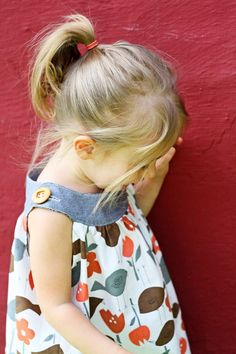 Buttoned dress tutorial - too cute! I plan to make little girl and boy clothes one day:)