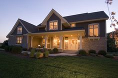This two-story craftsman #houseplan features an open floor plan, 4 bedrooms and 3.5 baths plus a 497 s.f. bonus space. Floor plans start at $925. To customize this home, please call 866-214-2242 or visit http://www.thehousedesigners.com/plan/pipestone-1899/