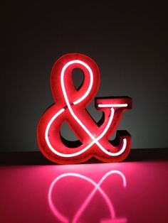 This would be an absolutely fabulous romantic touch over a couple's headboard in a modern designed or eclectic/bohemian bedroom! Especially appealing to graphic designers, I suppose. :) I soo WANT one! Vintage Marquee Lights NEON Ampersand & by VintageMarqueeLights, $399.00