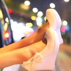bridesmaids, bow wedg, wedding shoes, colors, dress, heel, bows, black, outdoor weddings