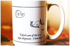cup, heart, office supplies, funny pictures, funni, funny stuff, snail, mugs, tape dispens