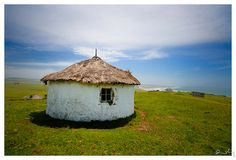 traditional hut, wild coast, south africa