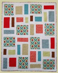 Pepperland Quilt Pattern. Choose one beautiful focal fabric and add 7 coordinates and you can create this beautiful quilt Pepperland. http://www.kayewood.com/item/Pepperland_Quilt_Pattern/2887 $9.50