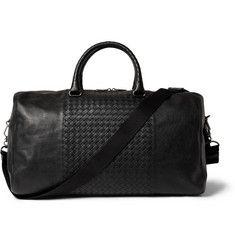 Bottega VenetaIntrecciato-Panelled Leather Holdall Bag