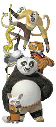 Kung Fu Panda Baby Monkey