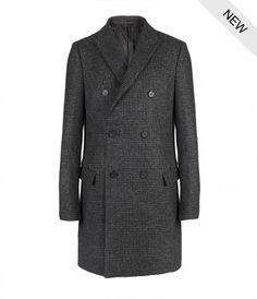 Alberta Coat, Men, Coats, AllSaints Spitalfields