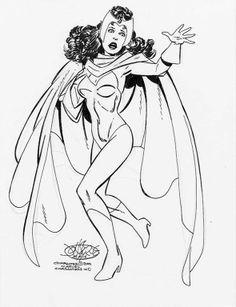 Scarlet Witch by John Byrne