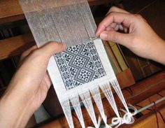 Rukai needle weaving - ...this could be something I might try....hmmmmm.....