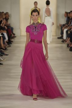 Ralph Lauren RTW Spring 2015 [Photo by Giovanni Giannoni]