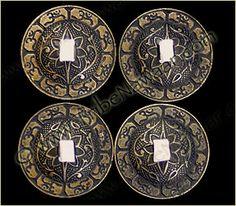 Tribe Nawaar Om Zils Dark Bronze Finger Cymbals Decorative Sagat Zills