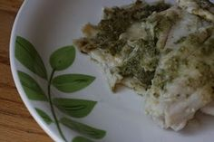 Crockpot tilapia with pesto recipe