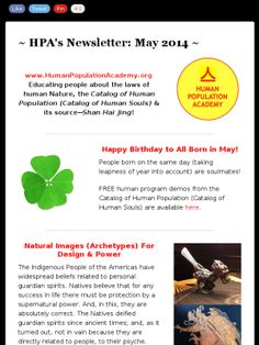 HPA's Newsletter - May 2014 http://mad.ly/595ac4