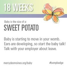 18 Weeks #bumpbadge | Mercy Medical Center - Des Moines