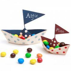 table decorations, parti boat, birthday parti, personalis metal, parties, boats, metal tabl, parti idea, tabl boat