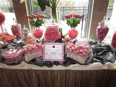 Did you know that you can order candy by color? Marissa, a customer of ours, ordered many of the items for the candy buffet for her bridal shower here: www.nuts.com/colors #nutsdotcom  #wedding candy buffet, candi buffet, bridal showers