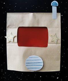 paper bag space helmet :D