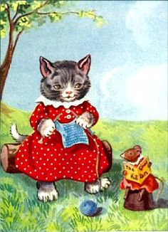 Knitting Kitty