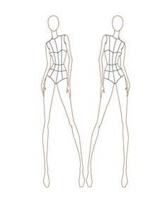 Female Fashion Croqui