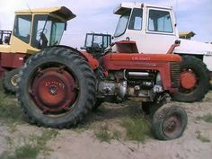 Massey Ferguson 50 tractor salvaged for used parts. Millions of new, rebuilt and used parts in our 7 huge salvage yards. For parts call 877-530-4430 or http://www.TractorPartsASAP.com