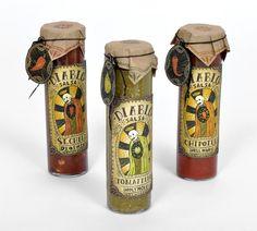 Diablo Hot Sauce Concept - Novena-inspired #packaging #design #identity #logo #package #product #unique #good #bottle #bbq #hot #sauce #diablo