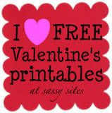 tons of cute printables and V-day ideas.