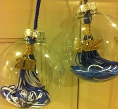 Graduation Tassel Ornament - something to do with those tassles I have