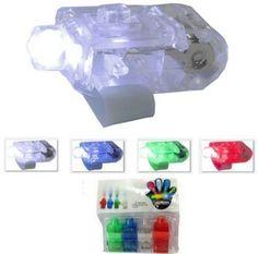 4 Pack LED Finger Flashlight, Super Bright