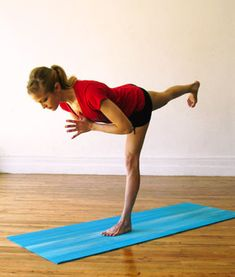 Yoga Poses for Lean Legs - Shape Magazinev #FitFluential