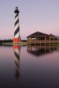 Cape Hatteras National Seashore in North Carolina. Walk on the beach, kayaking on the sound, or climb the Cape Hatteras Lighthouse.