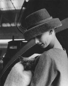 Audrey Hepburn for, 'Funny Face' (1956).