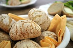Serve these gluten-free Rustic Dinner Rolls with your holiday dinner. Nothing says warm comfort food like a soft, warm roll with a crunchy outer crust.