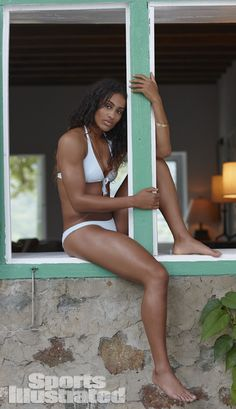 Professional basketball player Skylar Diggins graced the pages of the 2014 SI Swimsuit edition, and we though it was a slam dunk. (Adam Franzino/SI)